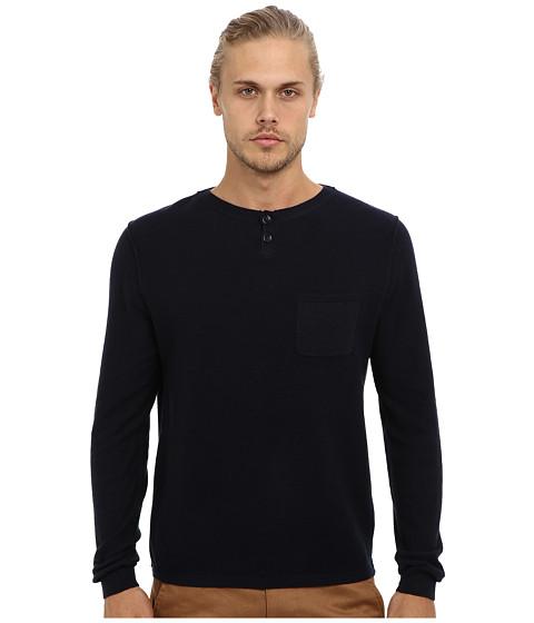 7 Diamonds - Coi L/S Shirt (Navy) Men