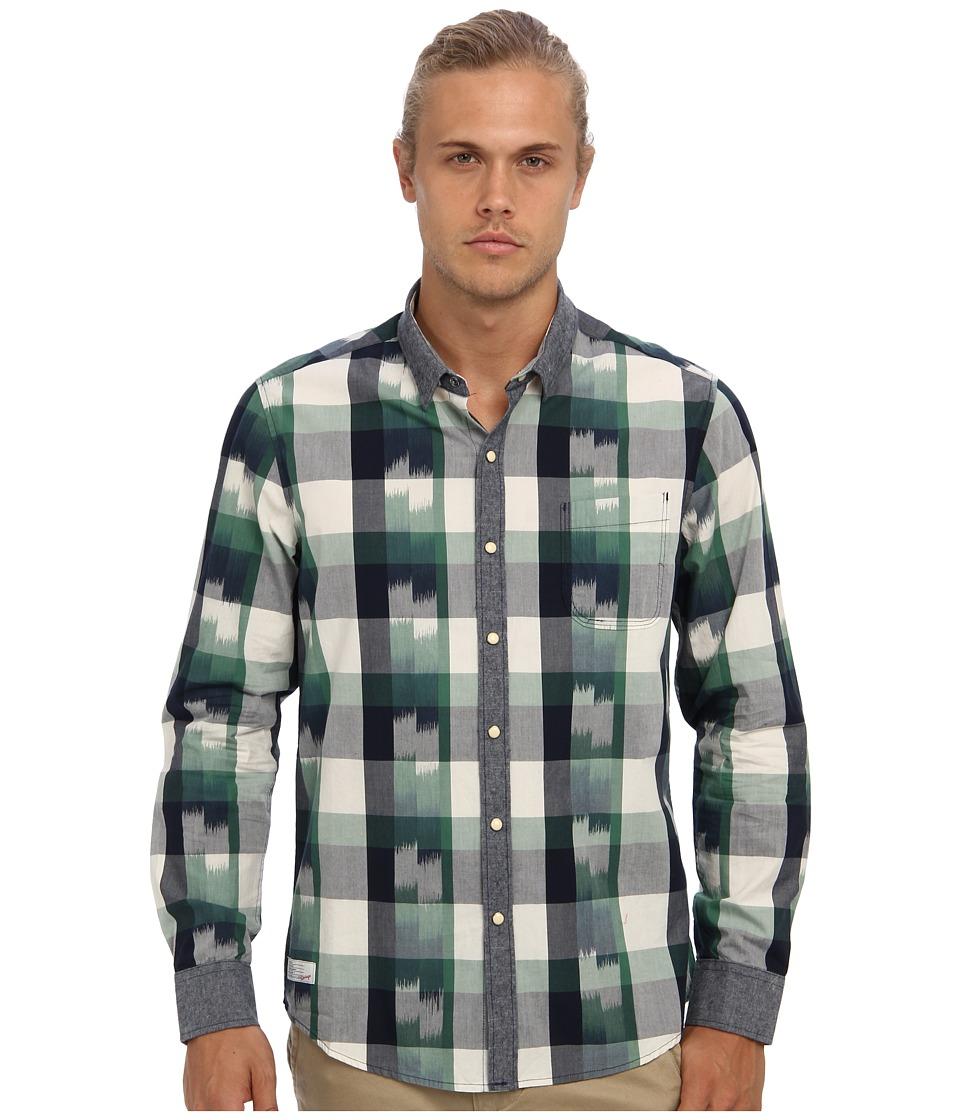 7 Diamonds - National Anthem L/S Shirt (Green) Men
