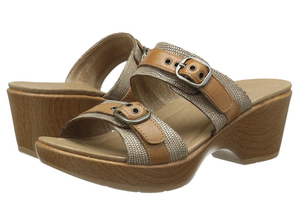 Dansko - Jessie (Sand Lizard) Women's Slide Shoes
