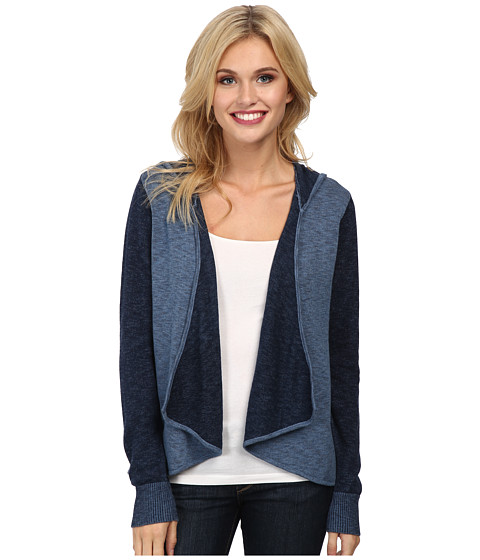 C&C California - Cotton Indigo Cardigan (Indigo) Women