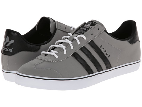adidas Originals - Samoa Vulc (Solid Grey/Black/White) Men
