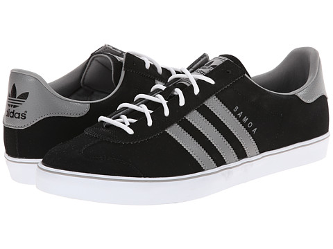 adidas Originals - Samoa Vulc (Black/Solid Grey/White) Men