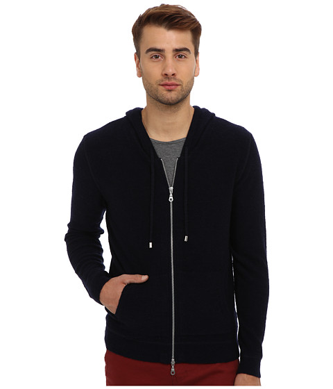 7 Diamonds - Calle Hoodie (Navy) Men's Jacket