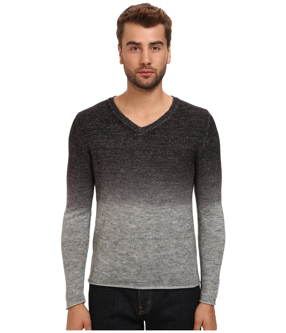 7 Diamonds - Bravas V-Neck Sweater (Charcoal) Men