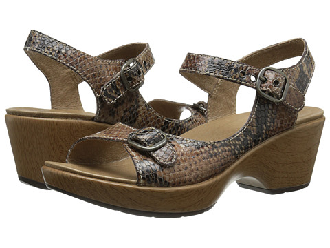 Dansko - Joanie (Brown Snake) Women