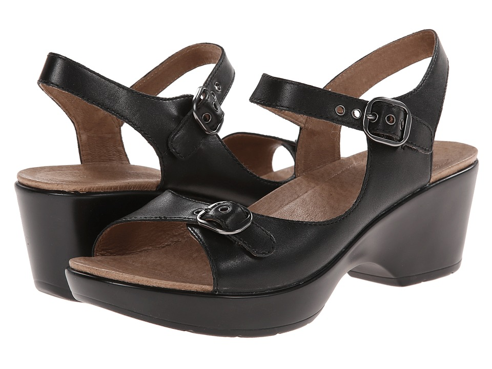 Dansko - Joanie (Black Full Grain) Women