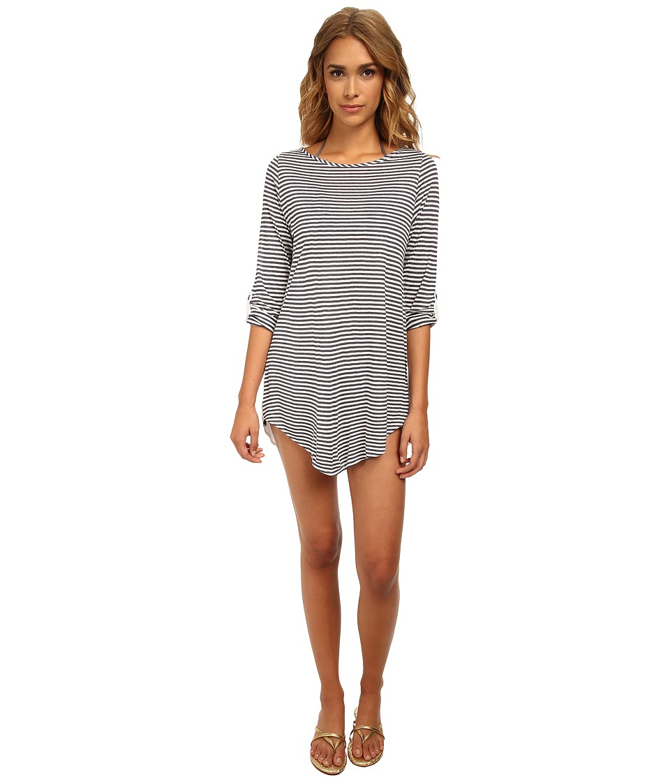 Splendid - The Blues Too Tunic Cover-Up (Navy) Women