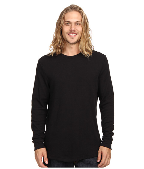 Hurley - Staple L/S Thermal (Black 2) Men's T Shirt