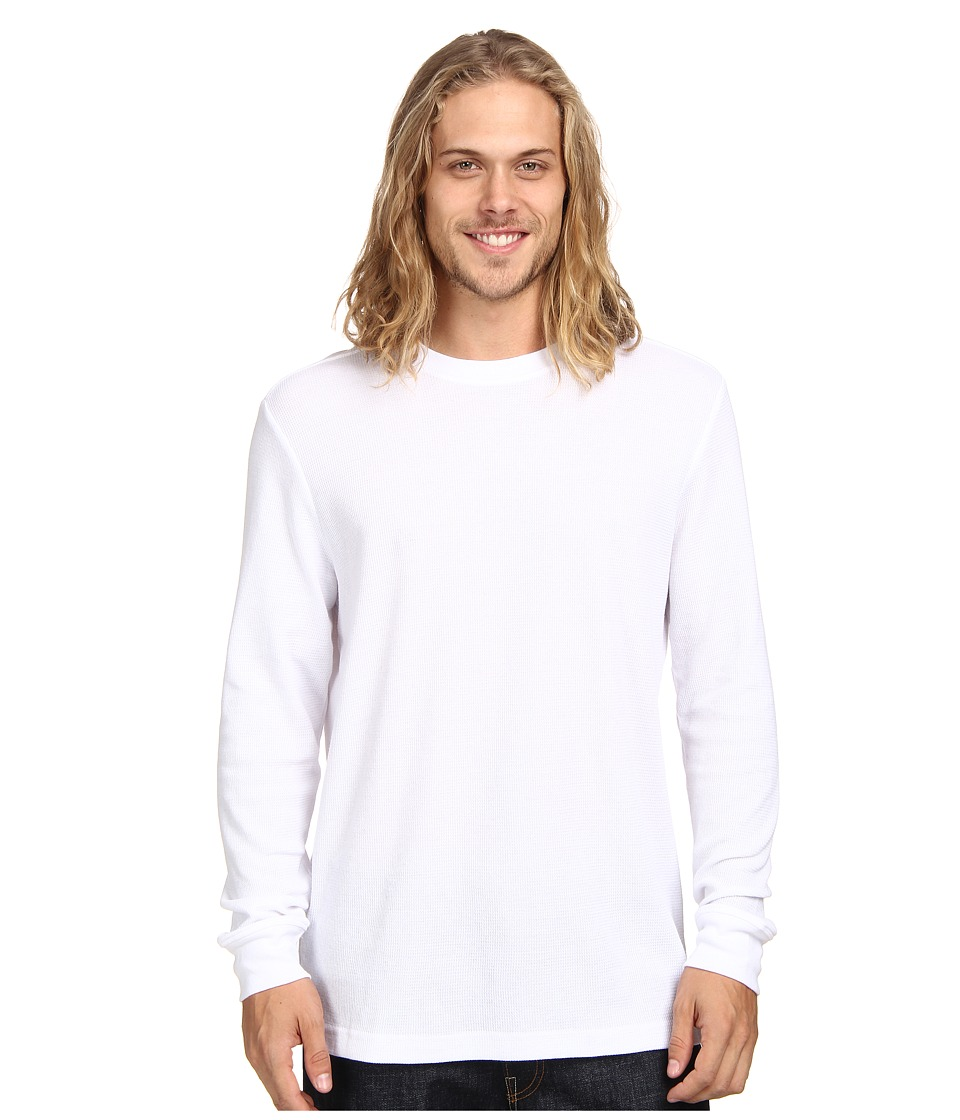 Hurley - Staple L/S Thermal (White 2) Men's T Shirt