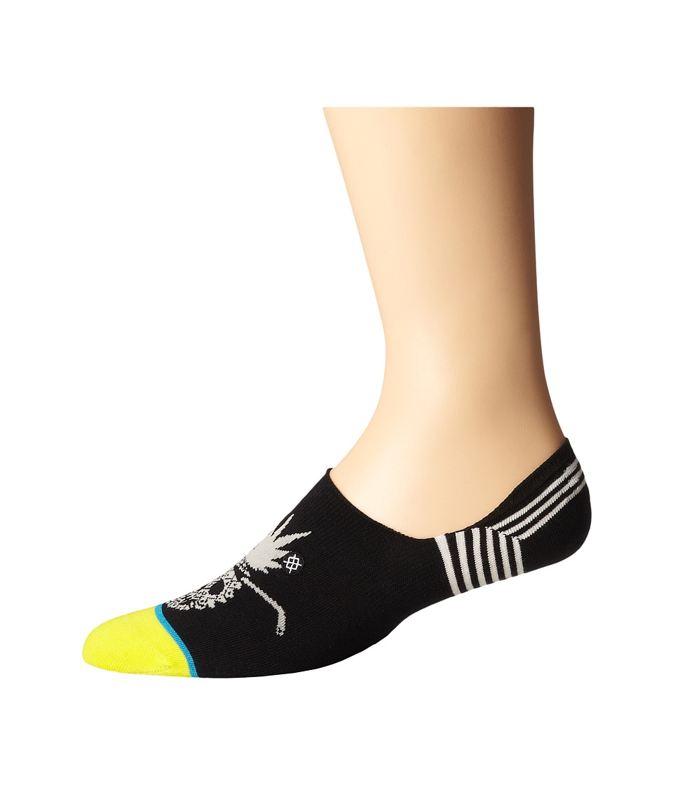 Stance - Jam (Black) Men's Crew Cut Socks Shoes