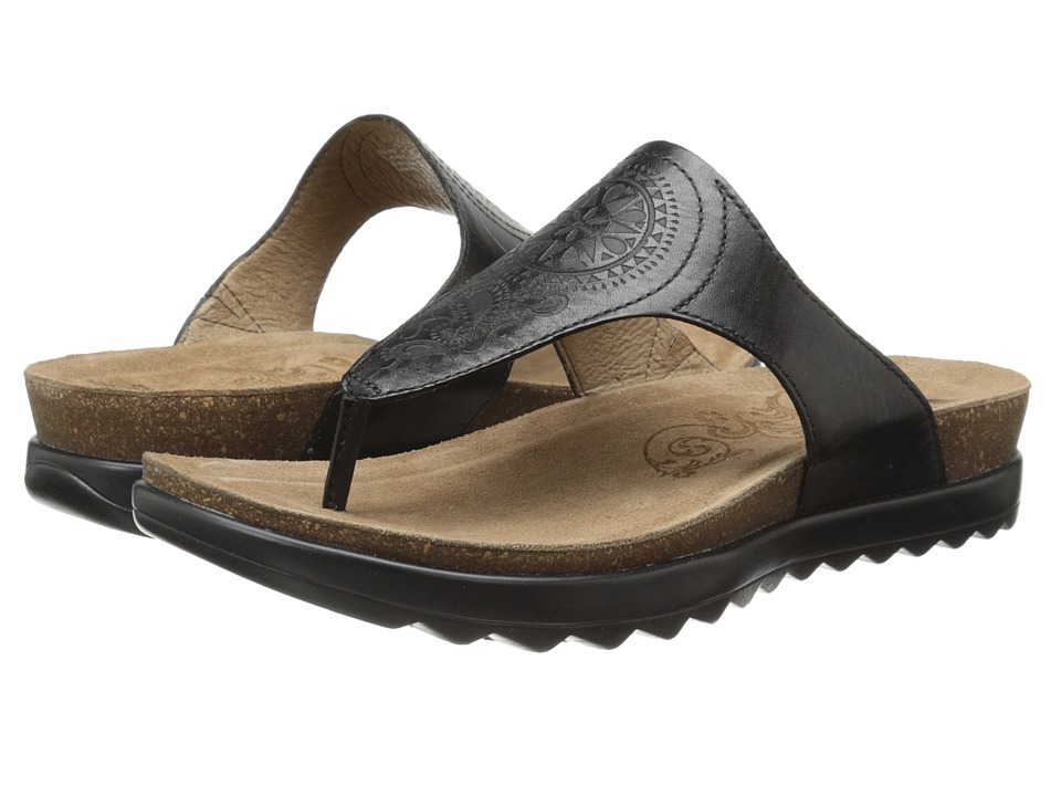 Dansko - Priya (Black Veg) Women's Sandals