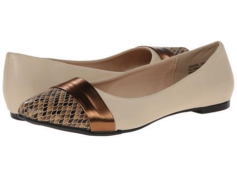 Annie - Pastel (Nude) Women's Dress Flat Shoes