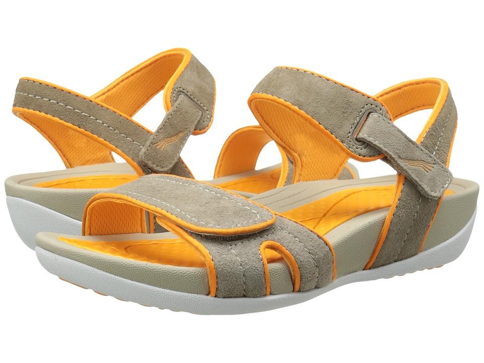 Dansko - Kami (Mocha/Citrus Suede) Women's Sandals