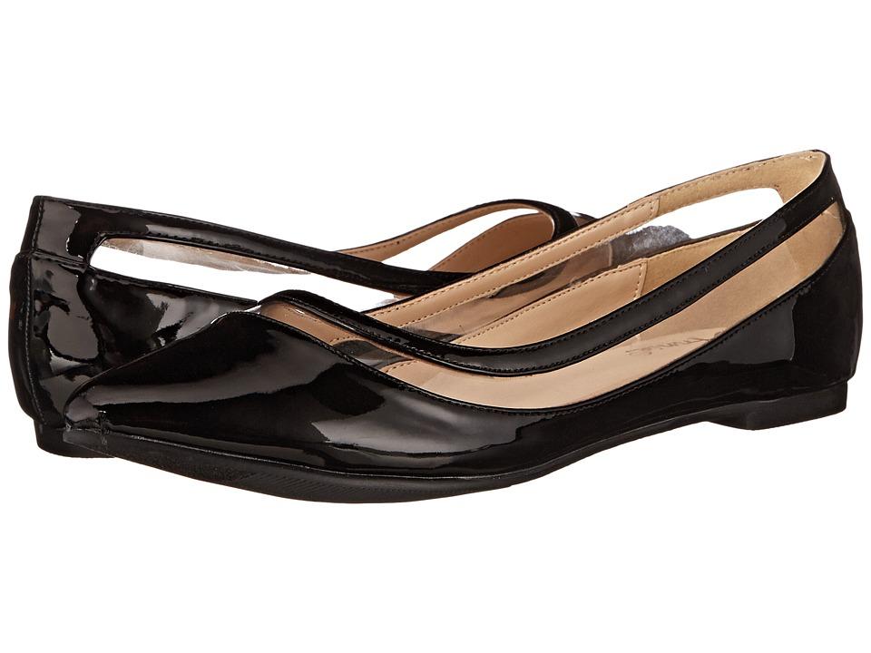 Annie - Presto (Black) Women's Dress Flat Shoes
