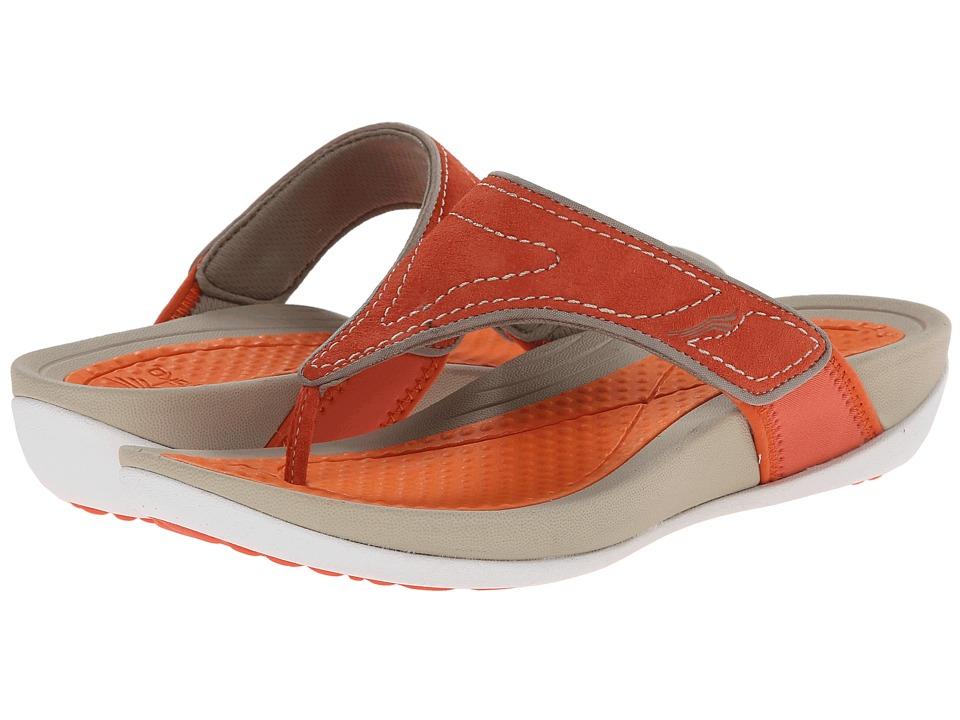 Dansko - Katy (Tangerine Suede) Women's Sandals
