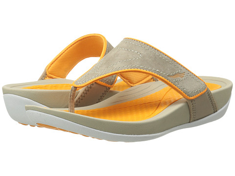 Dansko - Katy (Mocha/Citrus Suede) Women's Sandals