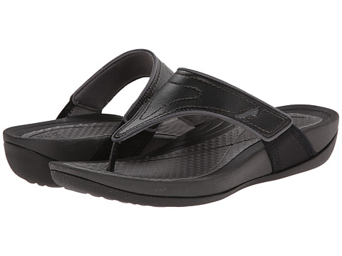 Dansko - Katy (Black/Grey Smooth) Women's Sandals