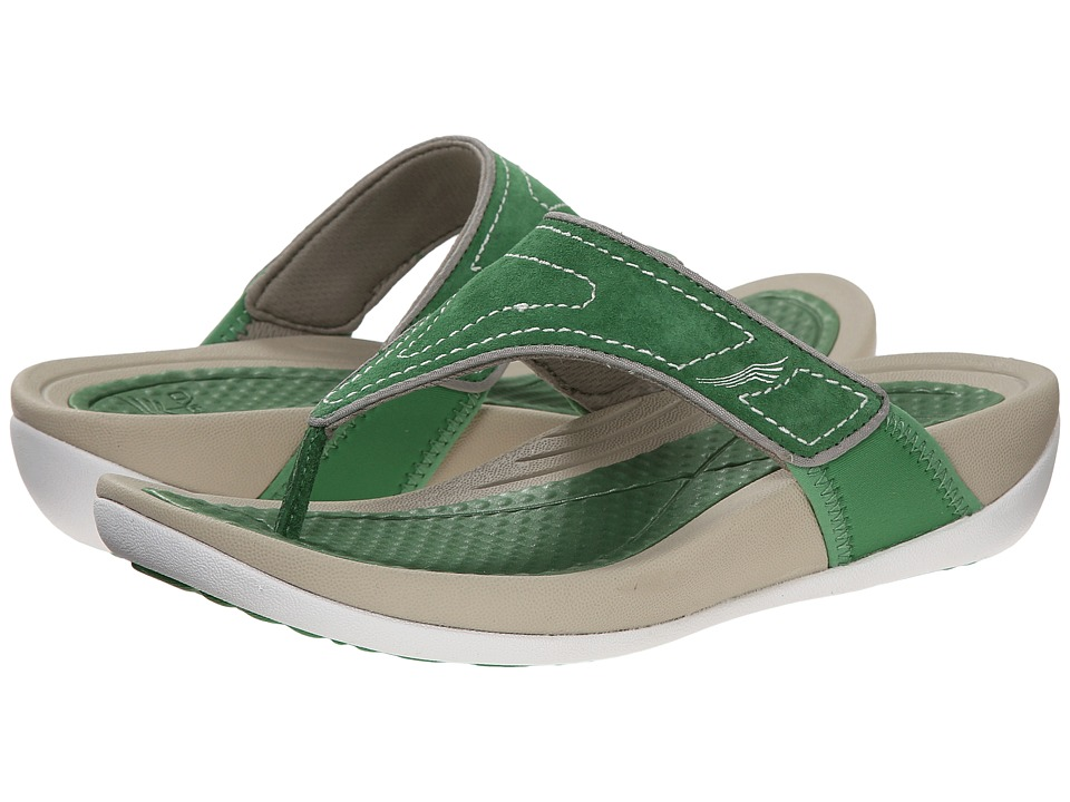 Dansko - Katy (Green Suede) Women