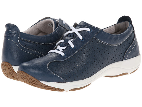 Dansko - Hillary (Navy Leather) Women's Lace up casual Shoes