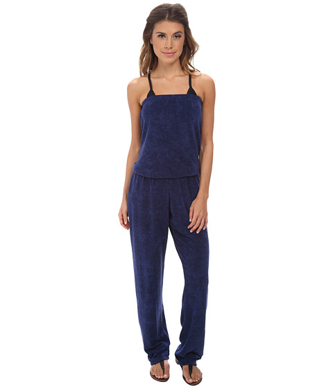 Splendid - Sunblock Solids Jumper (Navy) Women's Jumpsuit & Rompers One Piece
