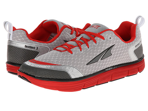 Altra Zero Drop Footwear - Instinct 3.0 (Silver/Red) Men