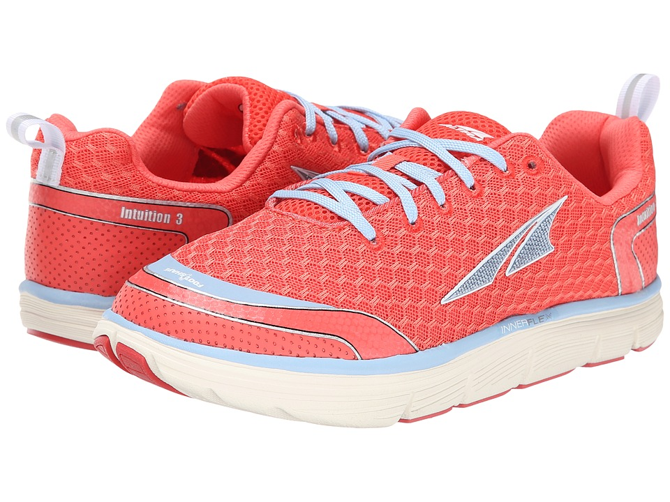 Altra Zero Drop Footwear - Intuition 3.0 (Coral/Blue) Women's Running Shoes