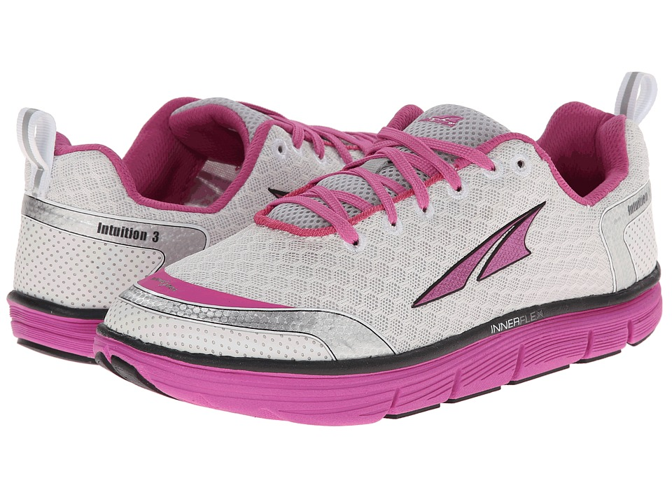 Altra Footwear - Intuition 3.0 (Silver/Pink) Women's Running Shoes