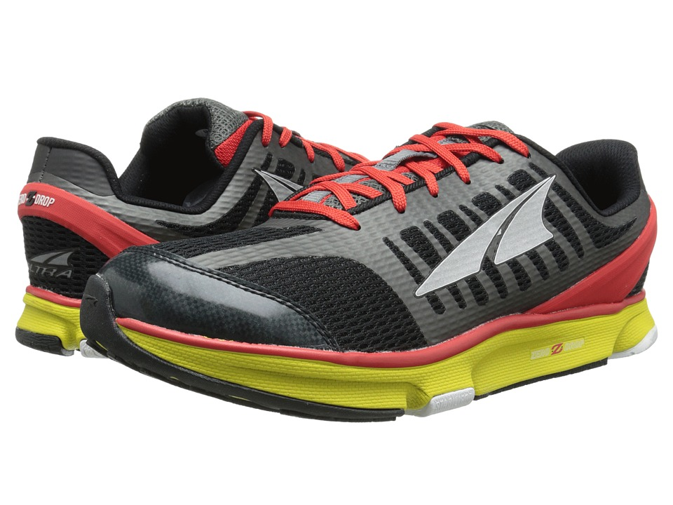 Altra Zero Drop Footwear - Provision 2.0 (Black/Red) Men's Running Shoes