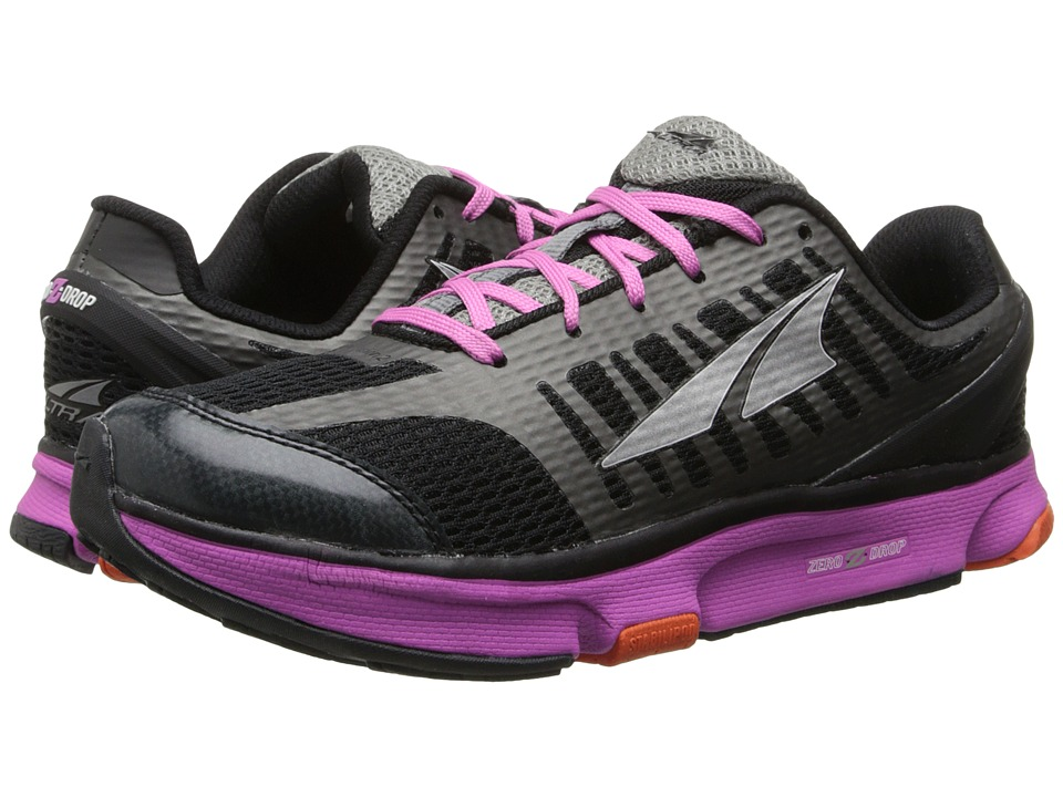 Altra Zero Drop Footwear - Provisioness 2.0 (Black/Pink) Women's Running Shoes
