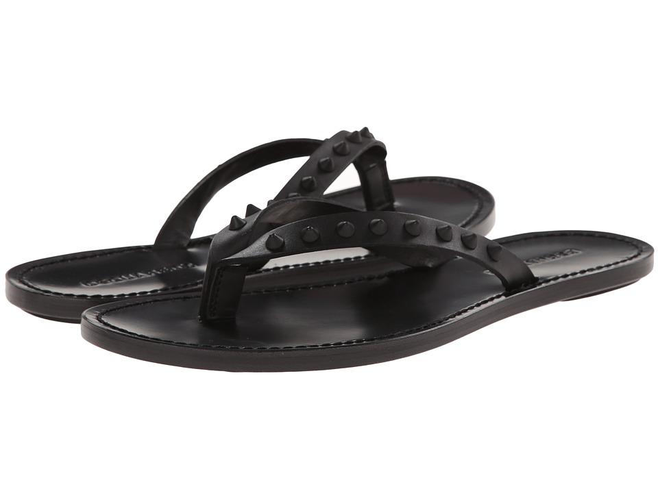 DSQUARED2 - Marlon Thong Sandal (Black) Men's Sandals