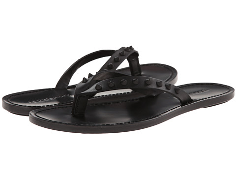DSQUARED2 - Marlon Thong Sandal (Black) Men's Sandals