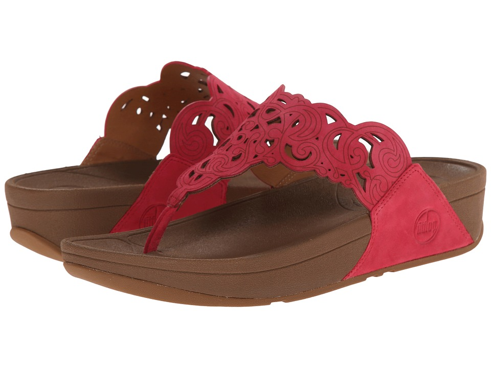 FitFlop - Flora (Raspberry) Women's Sandals