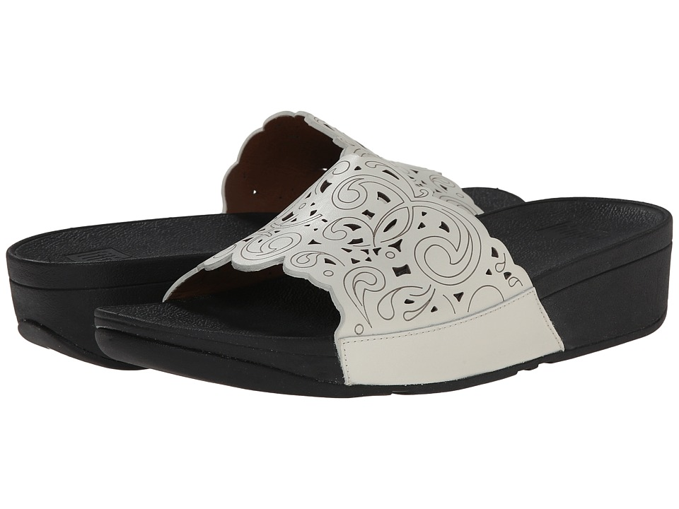 FitFlop - Flora Slide (Urban White) Women's Sandals