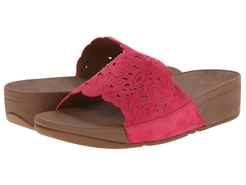 FitFlop Flora Slide (Raspberry) Women