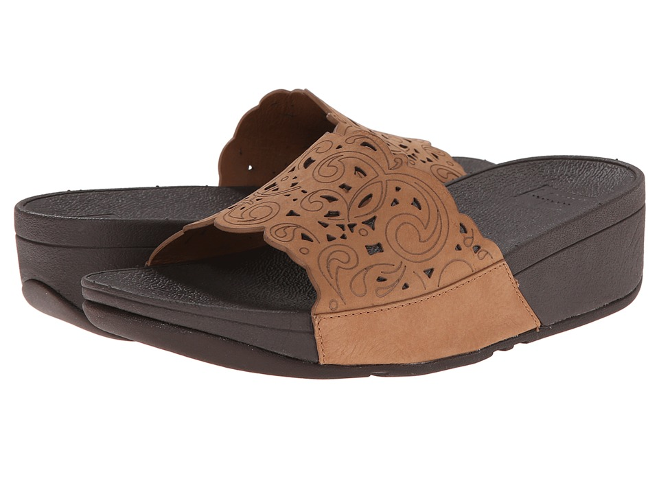 FitFlop Flora Slide (Tan) Women