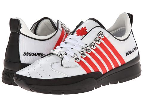 DSQUARED2 - 251 Sneaker (White/Red) Men