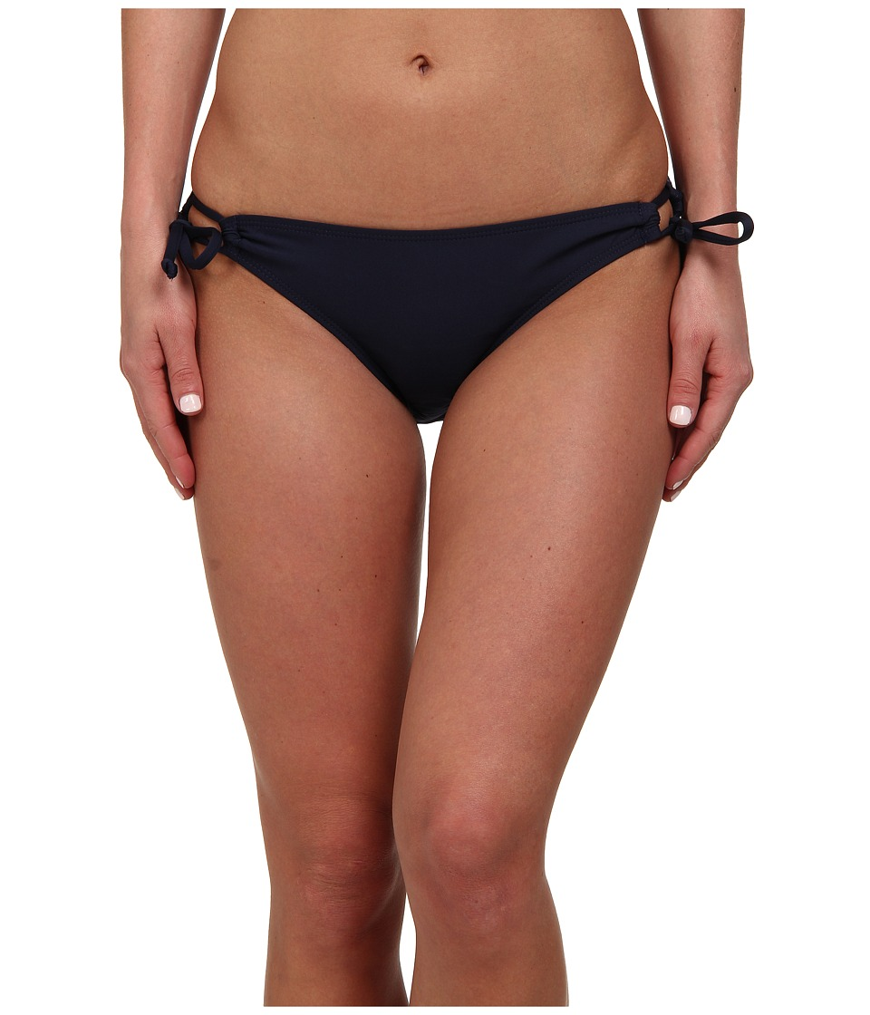 Nautica - Tunnel Side Tie Bikini Bottom (Navy) Women's Swimwear