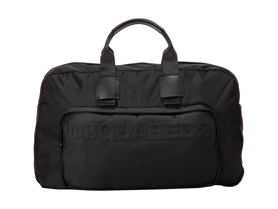 DSQUARED2 - Antony Duffle Bag (Black) Duffel Bags