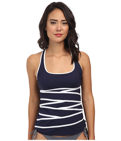 Nautica - Signature Soft Cup Tankini NA83145 (Navy) Women's Swimwear