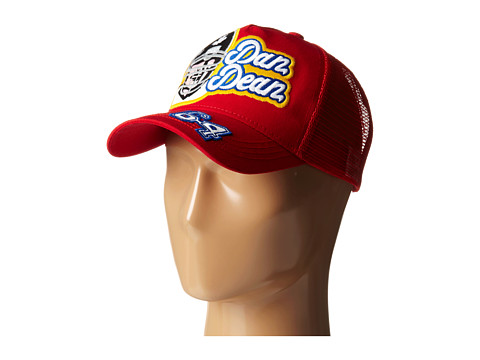 DSQUARED2 - Football Player Baseball Cap (Red) Baseball Caps