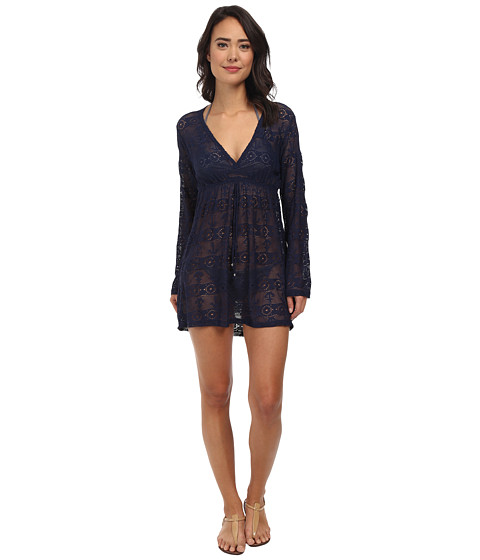 Nautica - Signature Pull Over Dress Cover-Up (Navy) Women