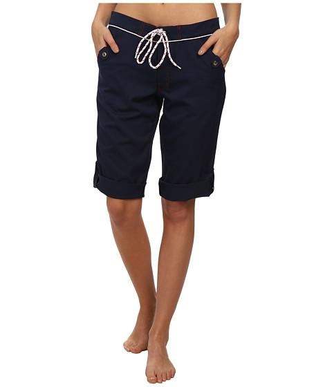 Nautica - Signature Convertible Capri Cover-Up NA83765 (Navy) Women's Swimwear