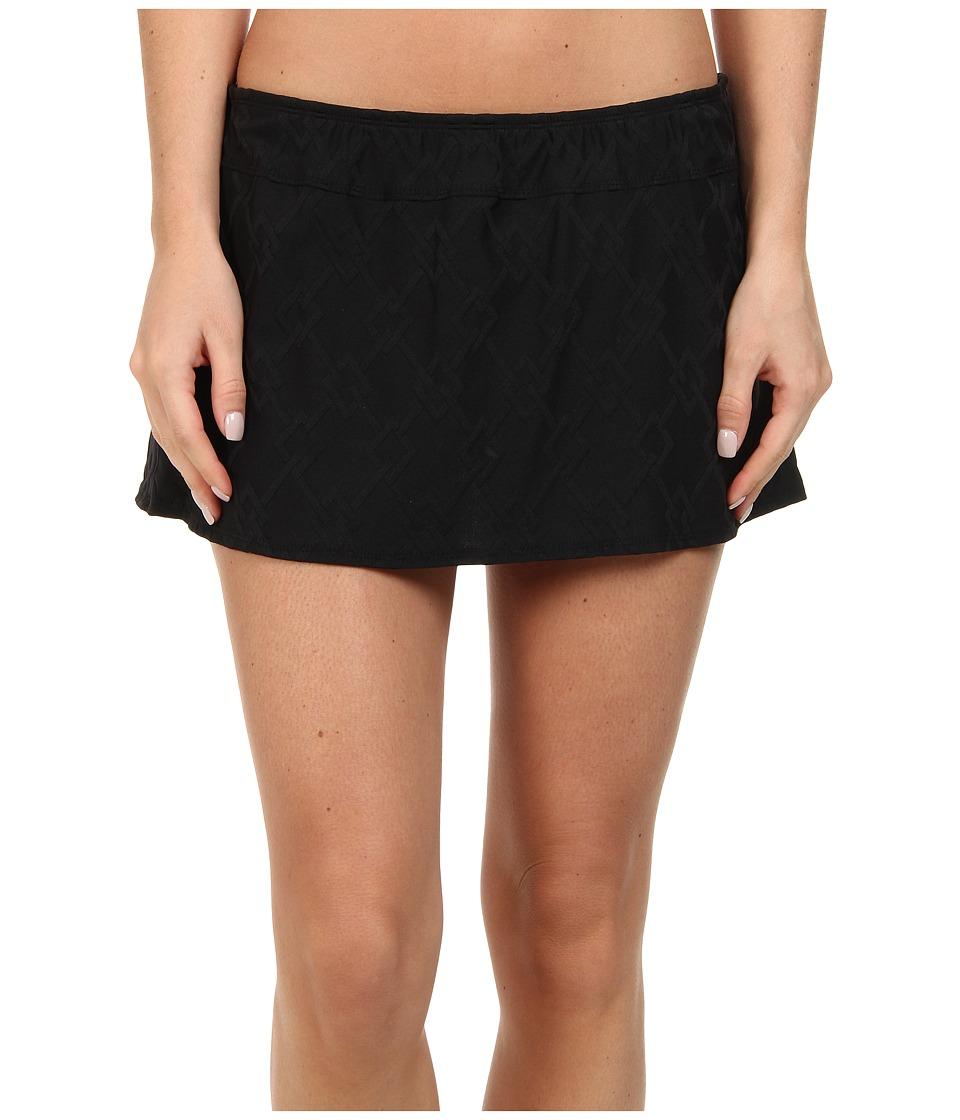 Nautica - Caravel Skirted Pant (Black) Women's Swimwear