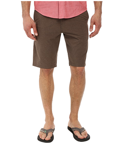 Volcom - Fruckin Drip-Dry Short (Brown) Men