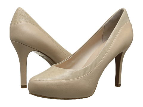 Rockport - Seven to 7 High Color Block Pump (Nude Suede/Pearlized) Women