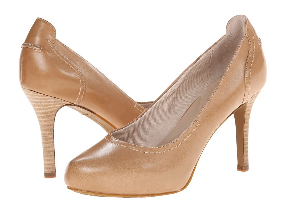 Rockport Seven to 7 95mm Stitched Pump (Burnish Nude Calf) High Heels