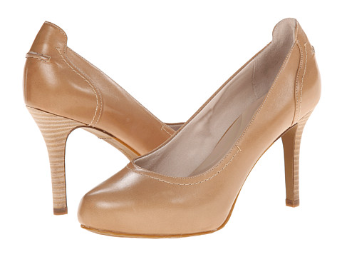Rockport - Seven to 7 95mm Stitched Pump (Burnish Nude Calf) High Heels