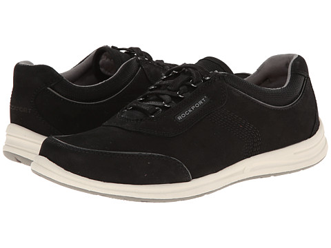 Rockport - Walk Together Mudguard (Black Nubuck) Women's Shoes