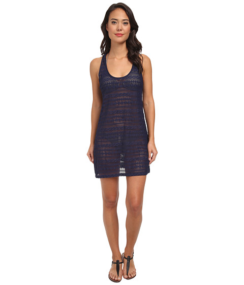 Nautica - Grand Isle Tank Dress Cover-Up NA90705 (Navy) Women's Swimwear