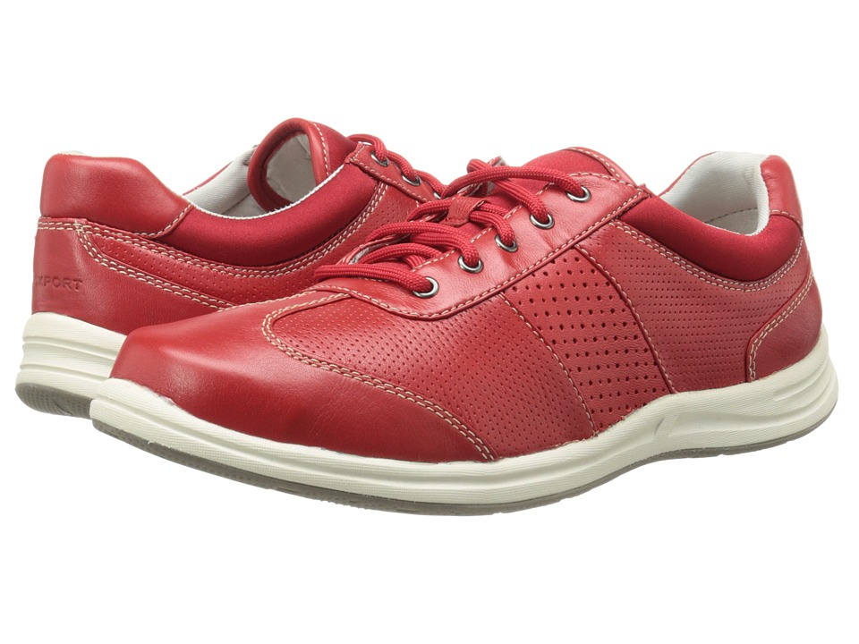 Rockport - Walk Together T-Toe (Red Berry Nappa) Women's Shoes